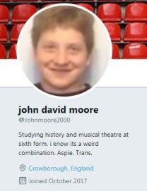 John Twitter profile