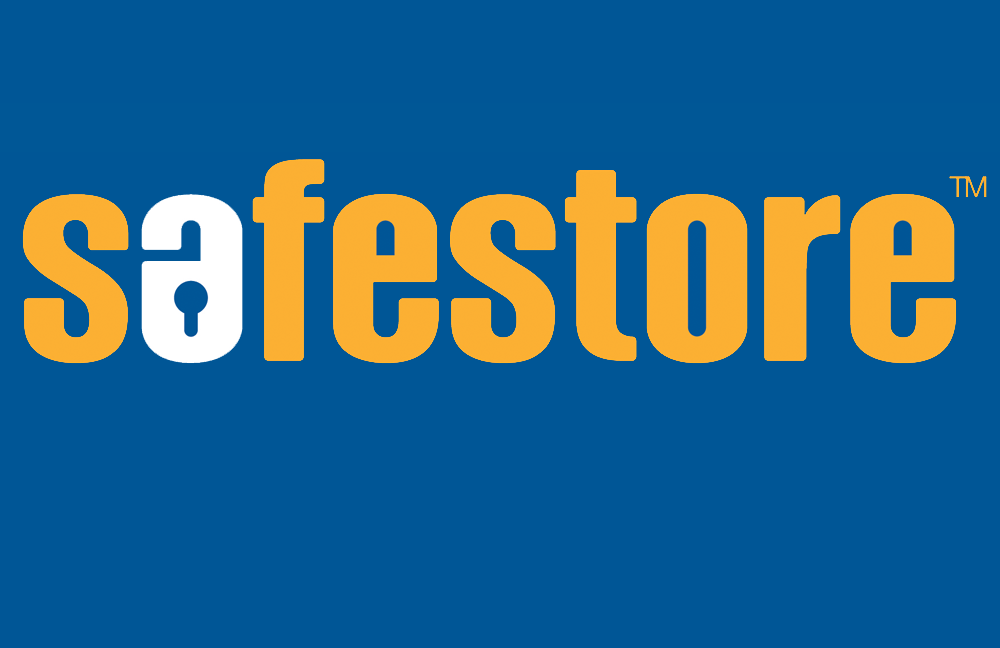 Safestore logo blue