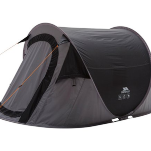 image shows pop-up tent