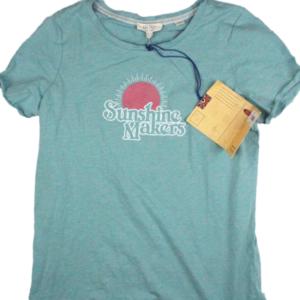 Image shows green women's t-shirt