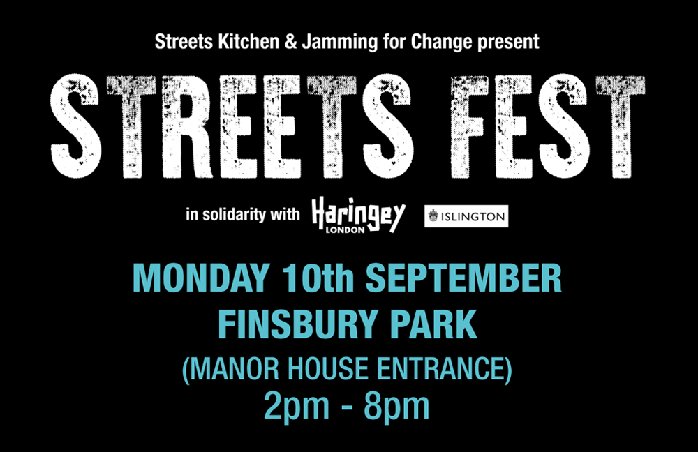 Streets Fest event poster artwork